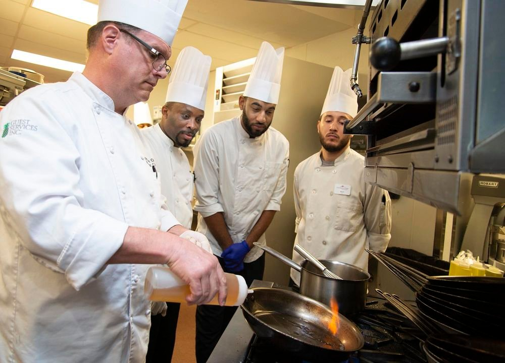 Mooring Park culinary apprenticeship program
