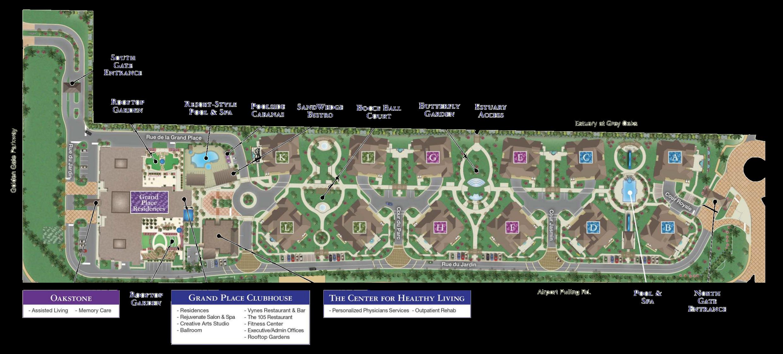 Moorings Park at Grey Oaks | Site Plan