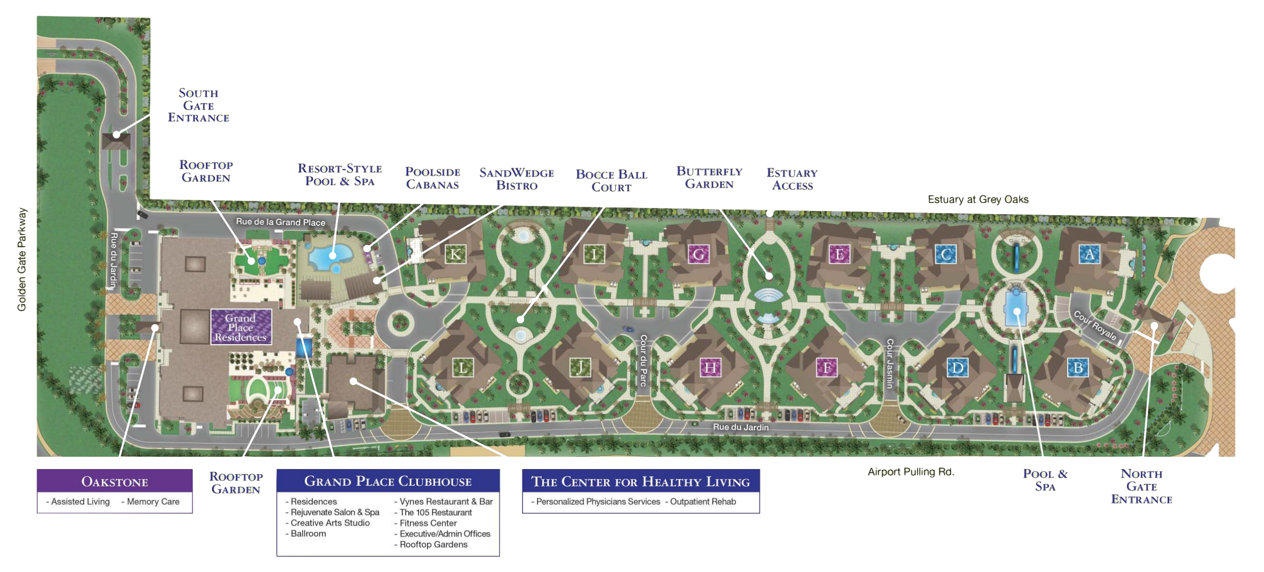 Moorings Park at Grey Oaks | Site Plan