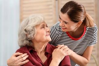 bigstock-Elderly-Woman-With-Female-Care-282707041