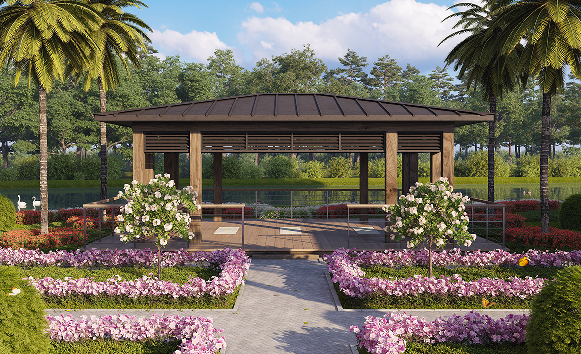 Outdoor Pavilion | Moorings Park